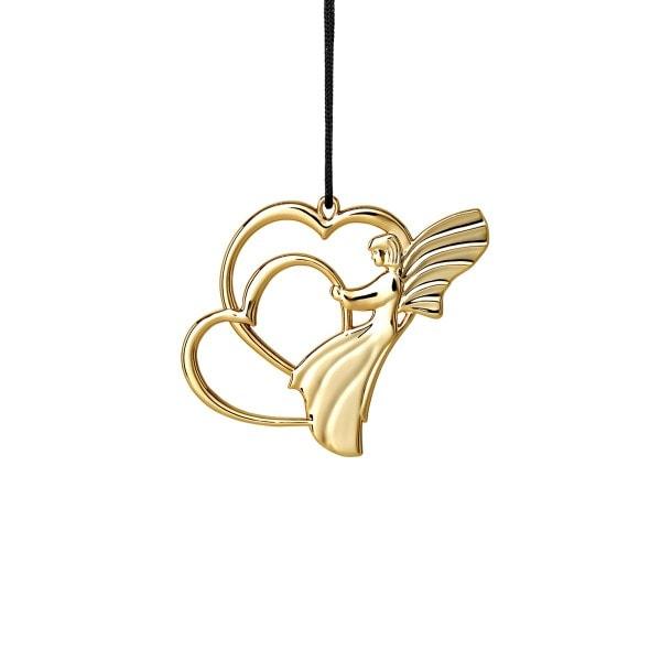 Rosendahl Weihnachtsbaumschmuck - Engel auf Herz