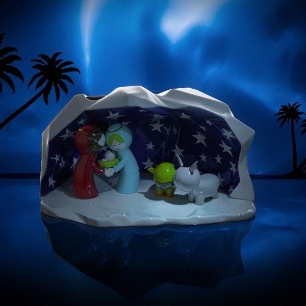 Alessi Weihnachtskrippe 'Happy Eternity Baby'